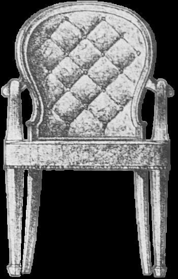 Stuhl-freigestellt
